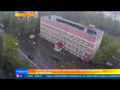Из-за непогоды по Москве и области объявлено экстренное предупреждение