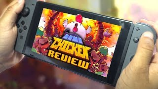 Bomb Chicken REVIEW   Nintendo Switch & PC (Video Game Video Review)