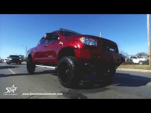 "2010 Toyota Tundra with 6"" Lift Kit - 5 Star Tires & Wheels"