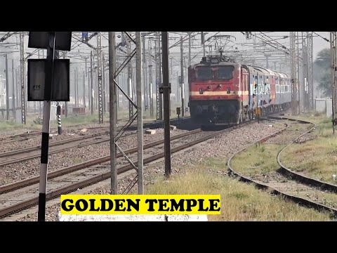 Amritsar Mumbai Golden Temple Express Honks Storms