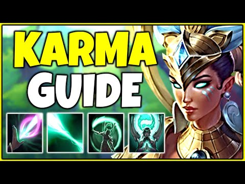 In-Depth Karma Support Guide | How To Play Karma In Season 10 - League Of Legends