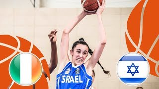 Ireland v Israel - Full Game - FIBA U16 Women's European Championship Division B 2018