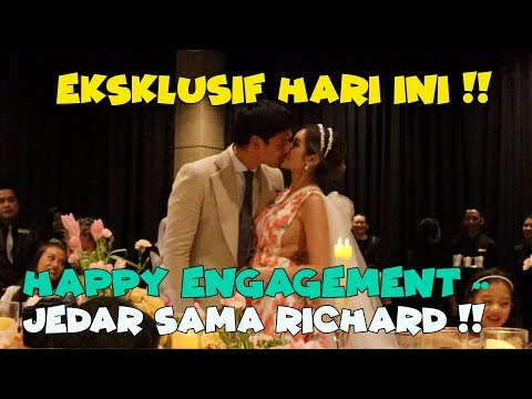 EKSKLUSIF ROMANTISNYA TUNANGAN JESSICA ISKANDAR AND RICHARD KYLE !!
