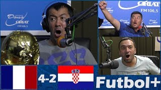Футбол плюс Финал Франция 4 2 Хорватия 15 07 2018