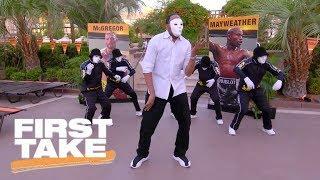 Stephen A. Smith dances with Jabbawockeez in Las Vegas | First Take | ESPN