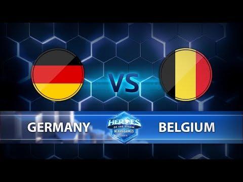 Nexus Games Europe - Group B Match 1 – Germany vs. Belgium - Game 3