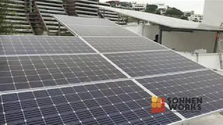 Sonnen Works - Instalación de paneles solares en San Pedro Garza García