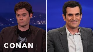 Repeat youtube video Bill Hader & Ty Burrell's Steamy Make-Out Scene