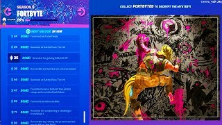 FULL FORTBYTE IMAGE *COMPLETE* Fortnite All Fortbyte Pieces (Fortbyte Secret Puzzle Complete)