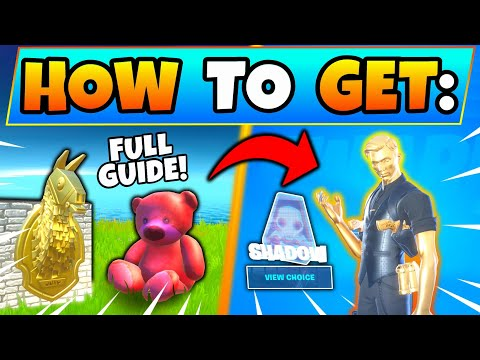 Fortnite MIDAS GOLDEN LLAMA And MIDAS MISSION Challenges Guide! + Pink Teddy Bear In Battle Royale
