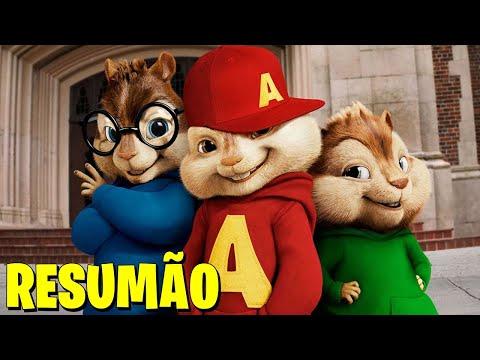 Alvin e os Esquilos: A História dos 4 Filmes em 1 Vídeo!