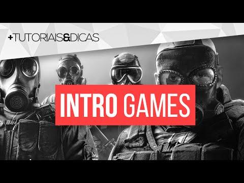 Como criar INTRO PROFISSIONAL para CANAL de GAMES pelo CELULAR - Tutorial