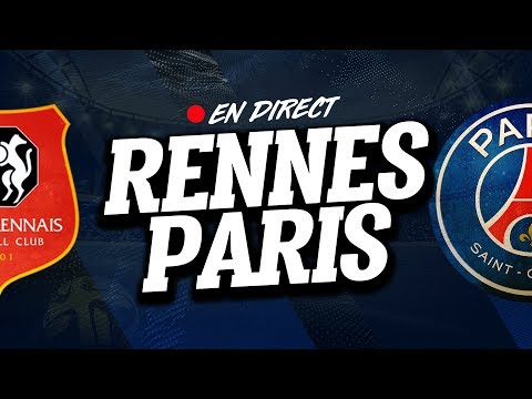 🔴  DIRECT  LIVE  RENNES  PSG  Club House