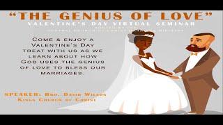 Valentine's Day Virtual Seminar: The Genius of Love