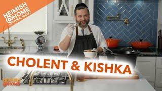 The Best Heimish Cholent & Kishka