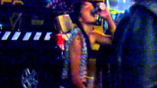 Wellington sevens 2012 - street party with Andy Blue - part 9 - Crowd goes wild!!!!