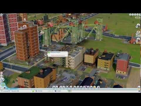 Zzar Plays Sim City #4 - Smelting metals