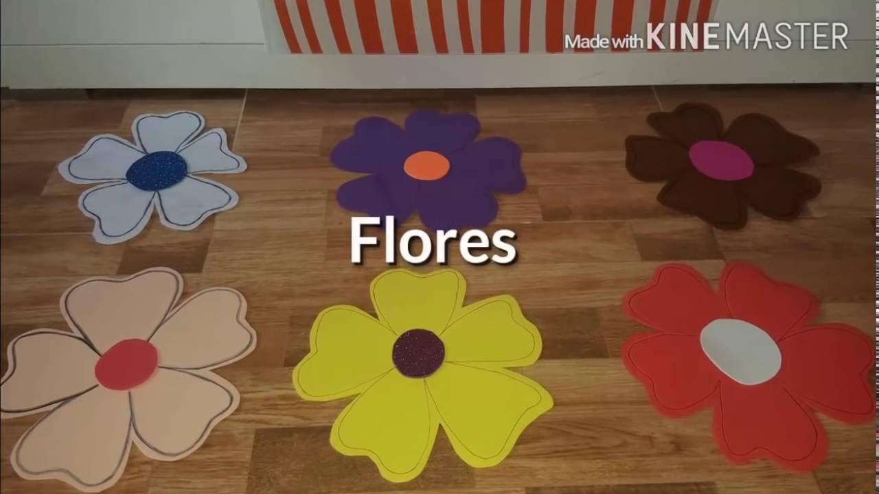Flores Hawaianas Tutorial Youtube