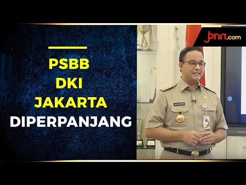 Bukan Hoaks, Anies Perpanjang Masa PSBB di DKI Jakarta