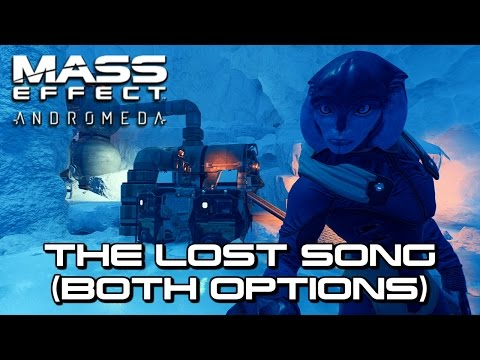 Mass Effect Andromeda - The Lost Song (Both Options)