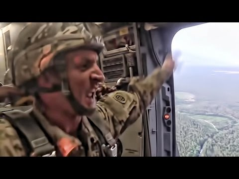 US Army Paratroopers • Get Off My Plane