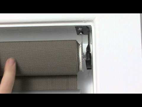 How To Install Recess Fit Roller Blinds