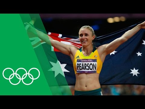 Sally Pearson relives her 100m Hurdles success at London 2012
