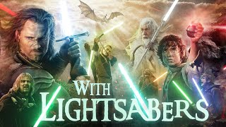 Download The Lord of the Rings with Lightsabers Mp3 and Videos