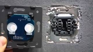 Cенсорный #выключатель света с пультом #Livolo VL-C702R-12
