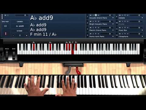 All My Life (by K-Ci and JoJo) - Piano Tutorial