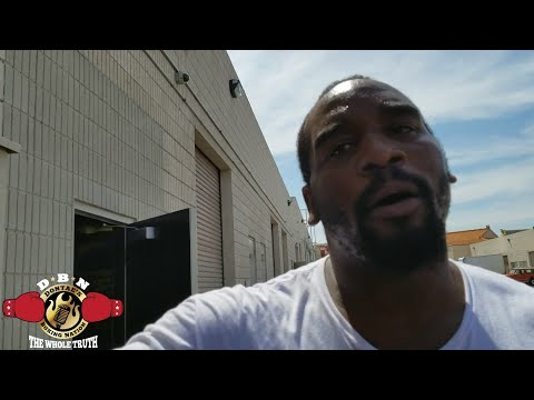 Marcellus Williams talks about challenging Anthony Joshua to sparring