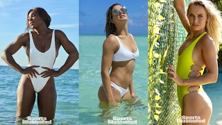 Serena, Genie Star In SI Swimsuit Issue-Stars In Swimsuits