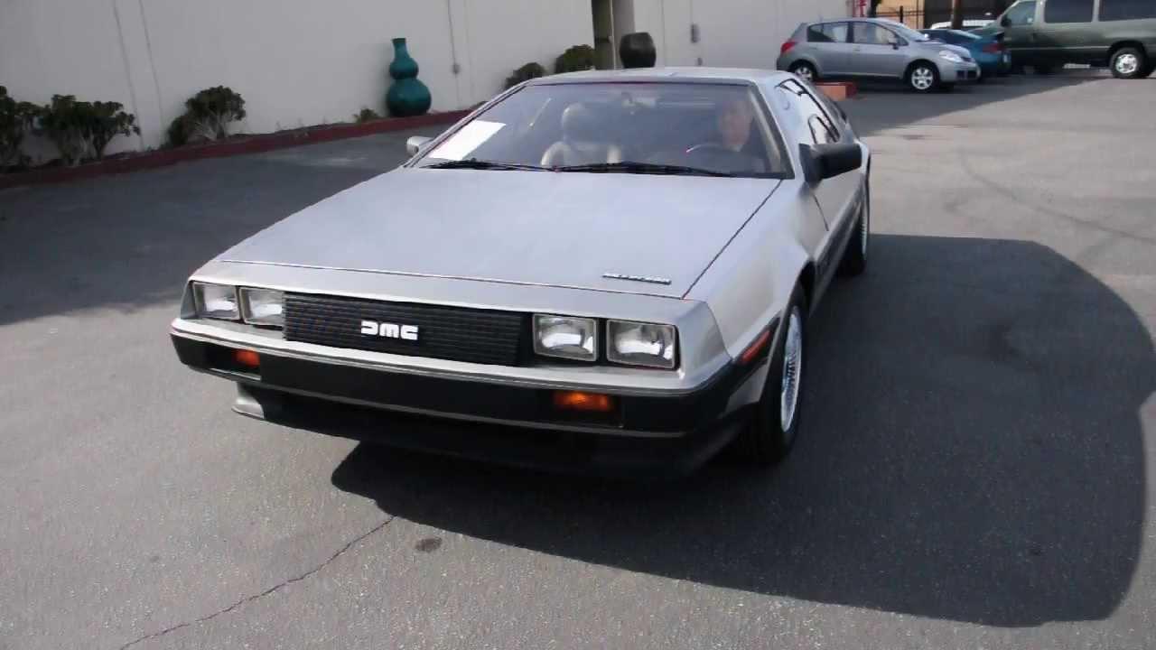 1983 delorean dmc 12 gullwing sports coupe stock 30887