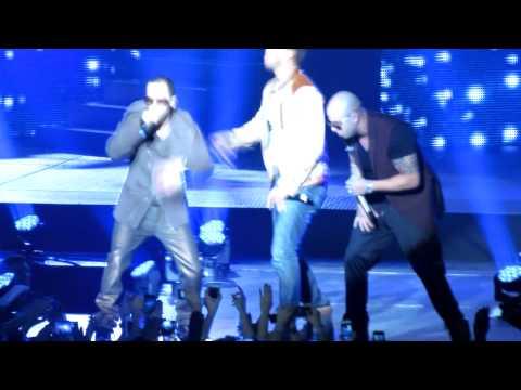 Wisin y Yandel ft. Romeo Santos - Noche de Sexo en vivo Madison Square Garden 1/18/2013 - 동영상