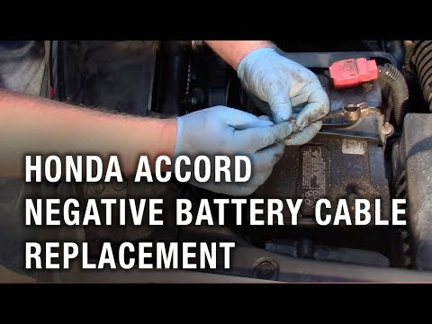 Honda Accord Negative Battery Cable Replacement