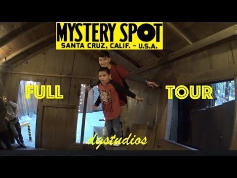 Mystery Spot - Santa Cruz, California FULL TOUR (Edited)