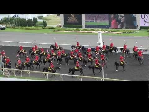 RCMP Musical Ride - Queen's Plate 2012 - high quality video