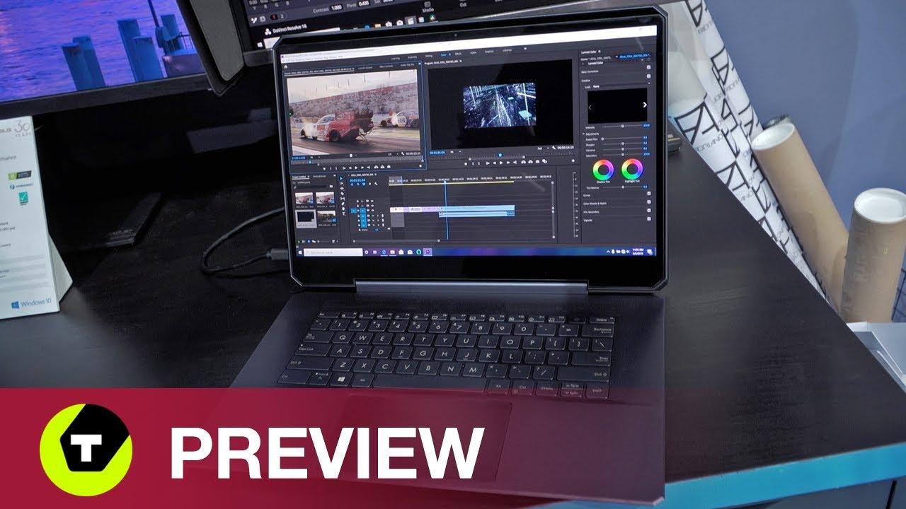Asus ProArt StudioBook One - Verticale koeling door ingenieuze schermklep
