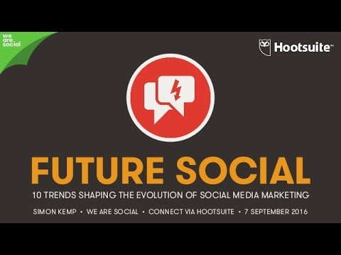 FUTURE SOCIAL – 10 Trends Shaping The Evolution of Social Media Marketing