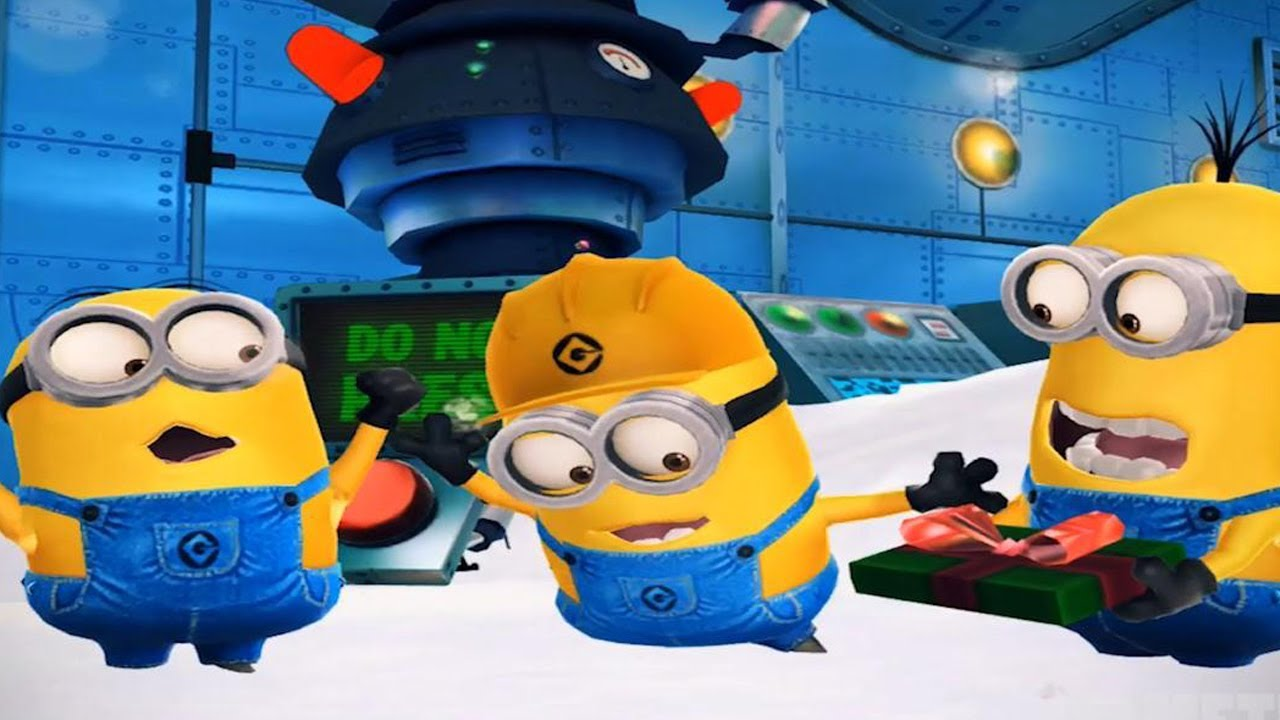 despicable me minion rush christmas gameplay trailer - Minion Rush Christmas