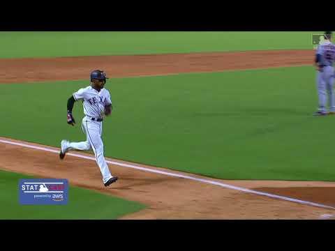 Delino Deshields Home Run inside the park