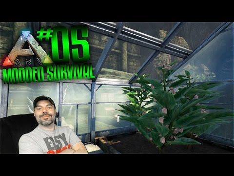 Ark Modded Survival Gameplay - S2 Ep 5 - ARK RESOURCE CROPS MOD!