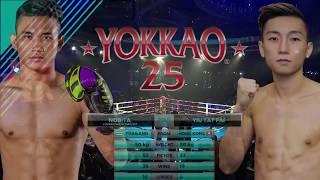 Download Video YOKKAO 25: Nobita YOKKAOSaenchaiGym (Thailand) vs Yiu Tat Fai (Hong Kong) - 50kg MP3 3GP MP4