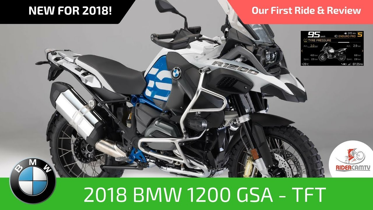2018 bmw 1200 gs adventure rallye with tft screen our first ride and review youtube. Black Bedroom Furniture Sets. Home Design Ideas