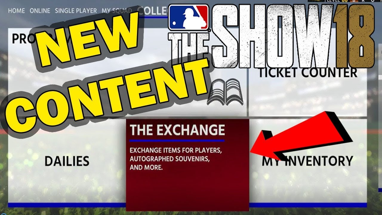 NEW EXCHANGE PACKS + SET 2 PACK OPENING | NEW MLB 18 CONTENT