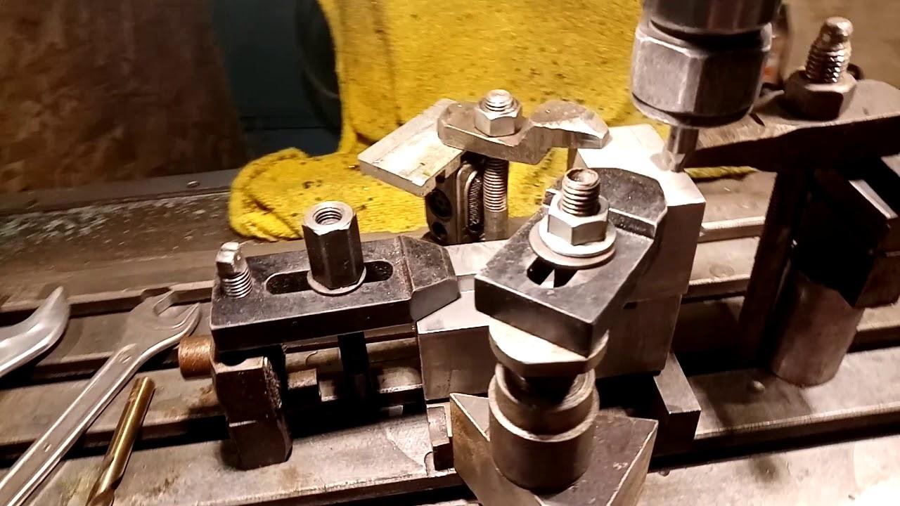 Изготовление штампа или пресс-формы, гибка металла на прессе