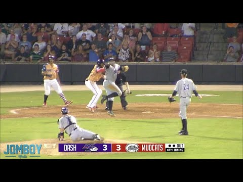 Zack Collins & The Winston Salem Dash Blow The Game Vs The Mudcats, A Breakdown