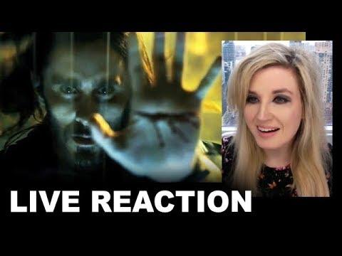 Morbius Trailer REACTION