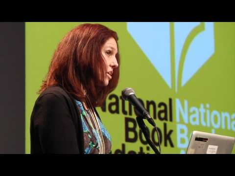 Laura Ruby reads at the 2015 National Book Awards Finalists Reading