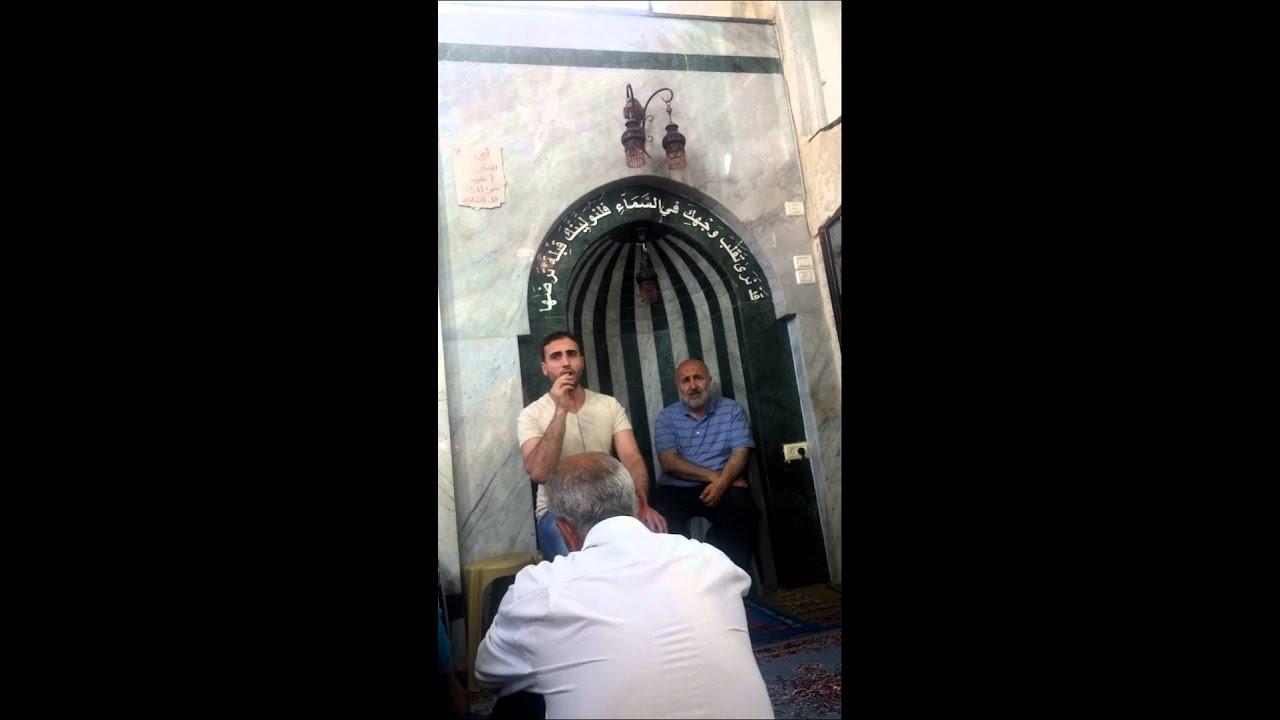 رمضان في جامع  البيك في   نابلس 2015